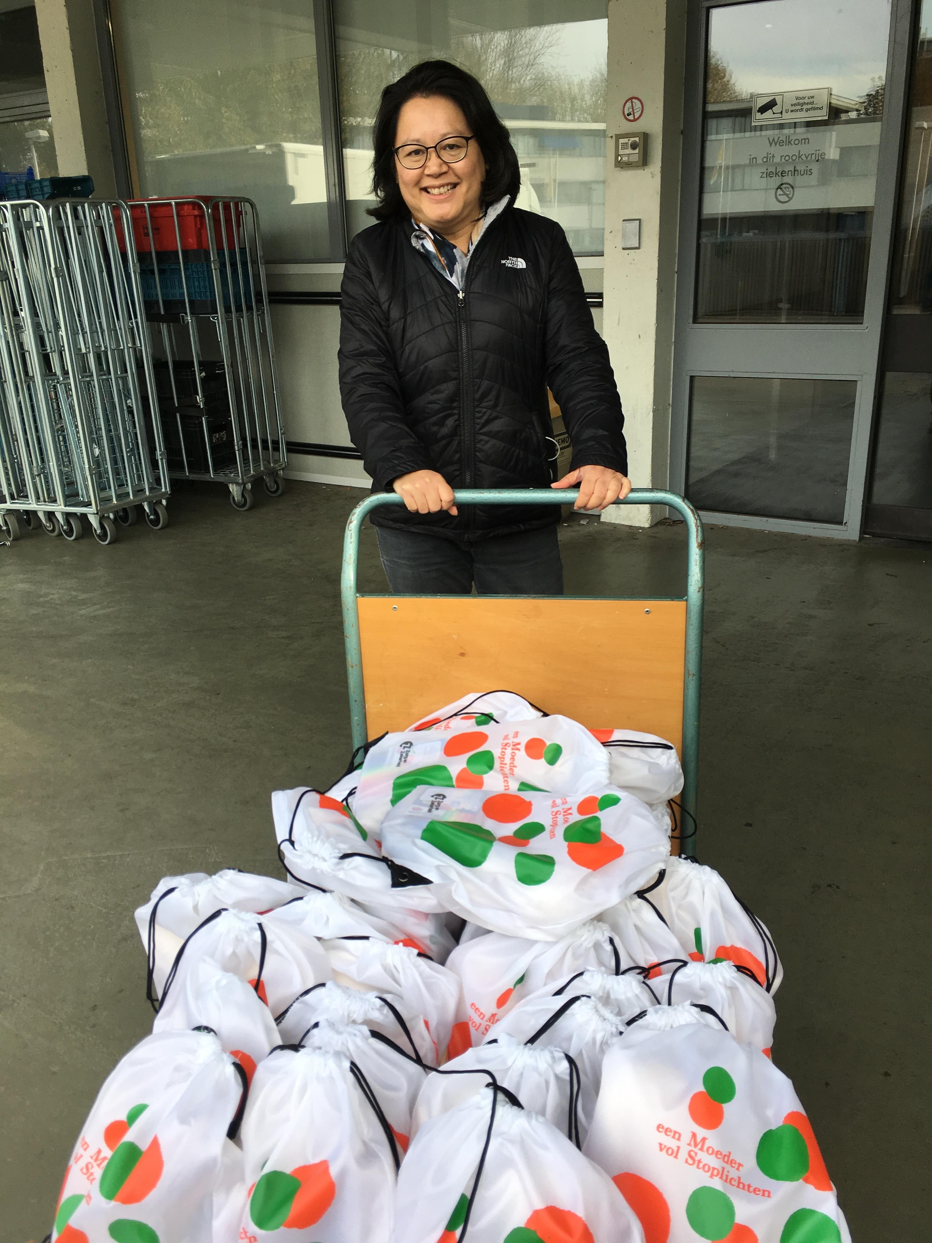 Lezing Fiona Sie op MS-symposium Groene Hart Ziekenhuis in Gouda