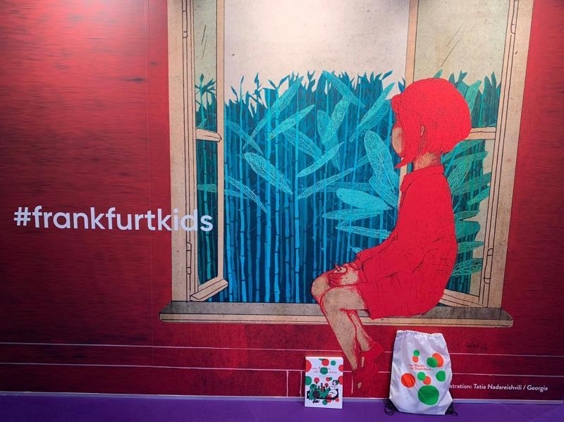 Frankfurter Buchmesse: Contact met Engelstalige uitgevers