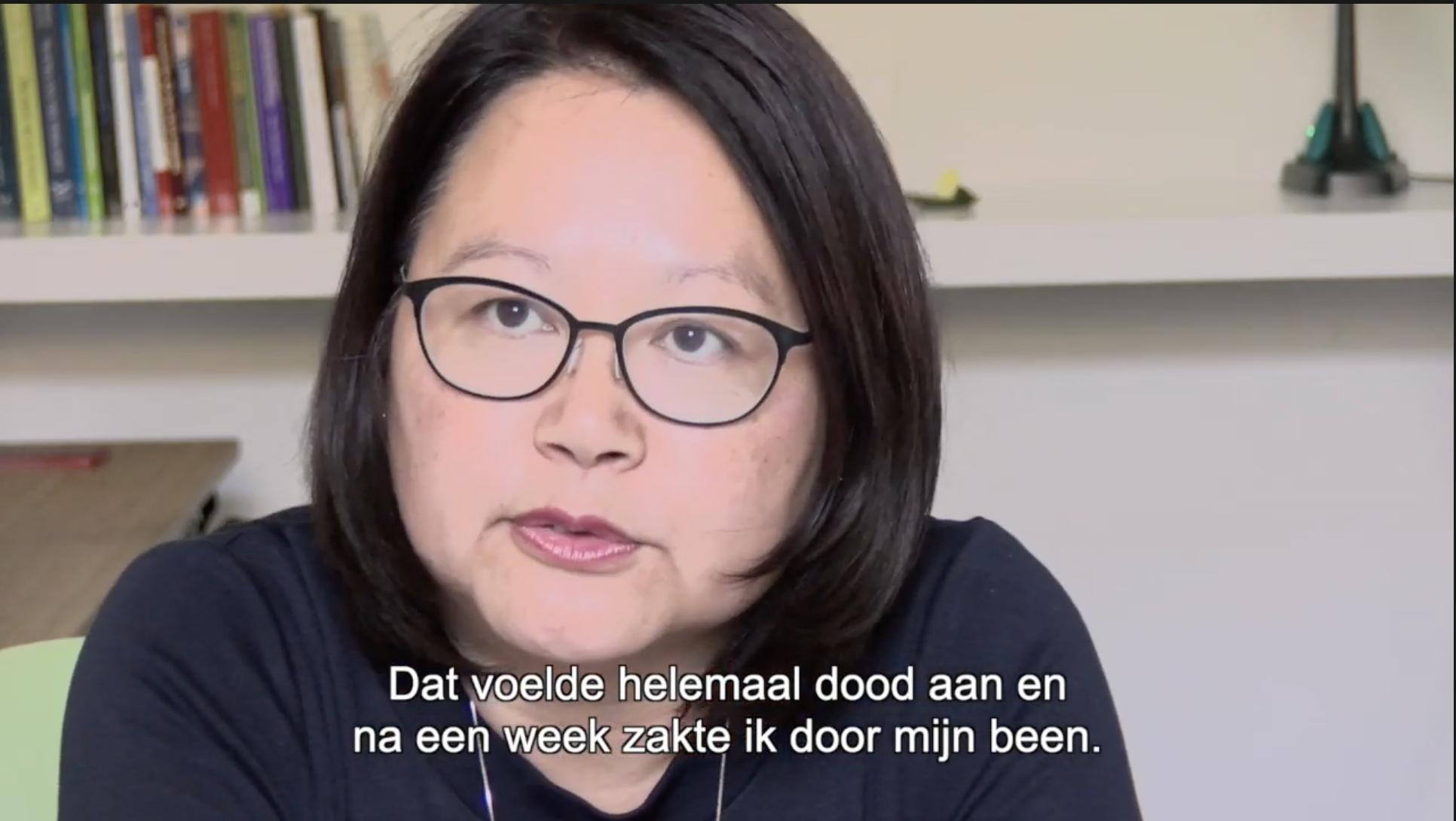 MS De Baas interviewt Fiona Sie over hoe MS haar leven veranderde